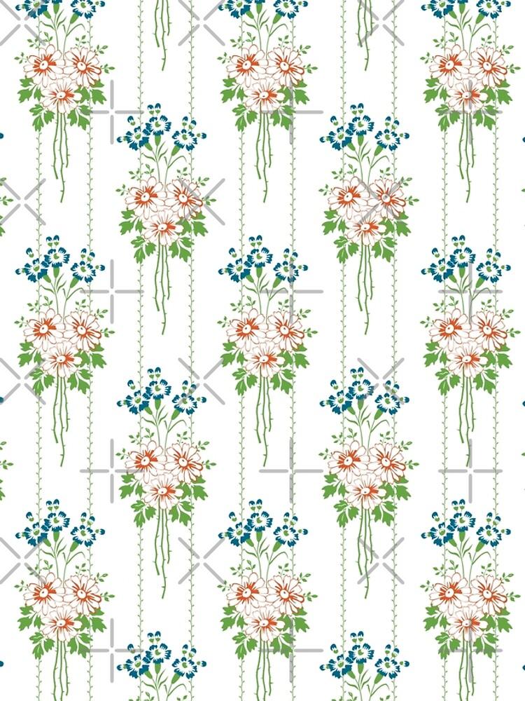 Baroque Wallpaper Blumenbouquet... von pASob-dESIGN