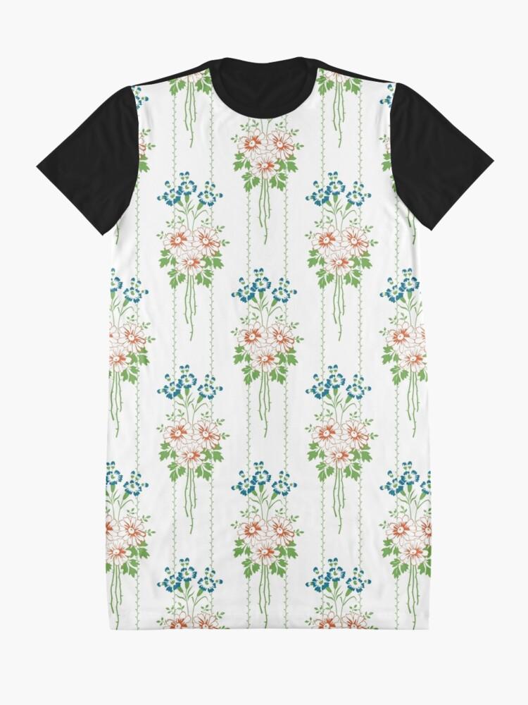 Alternative Ansicht von Baroque Wallpaper Blumenbouquet... T-Shirt Kleid