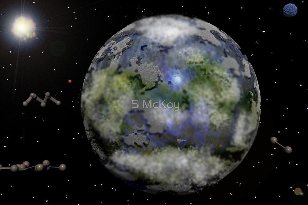 Earth Two ( Atmosphere) by S McKoy