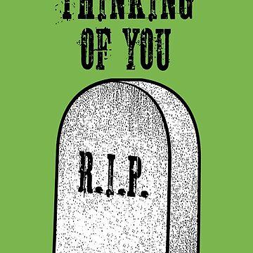Pensando en ti ... (RIP) de adamcampen