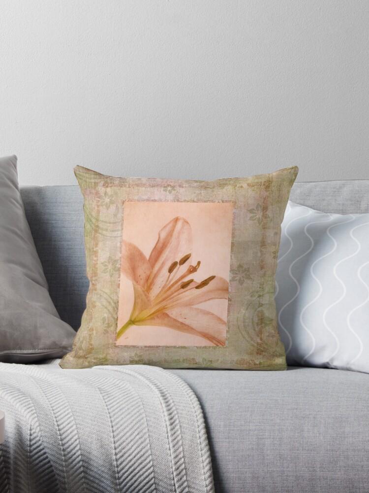 Pink Lily by Ana CB Studio