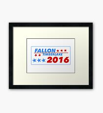 Fallon/Timberlake 2016 Framed Print
