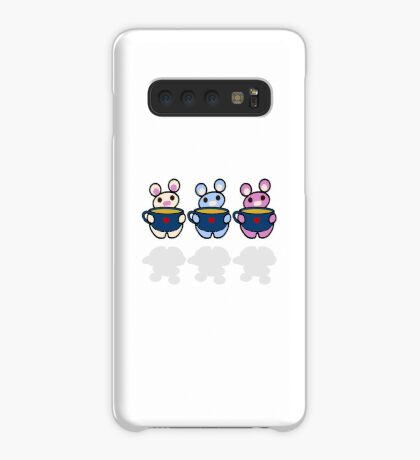 STPC: Three Chibis (Tea) Case/Skin for Samsung Galaxy