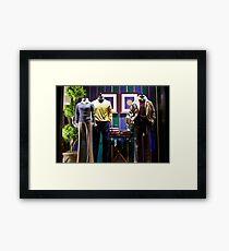 Ralph Lauren Shop Framed Print