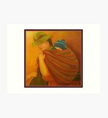 Morther Of Peru Art Print