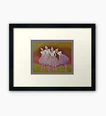 The Buterfly Dance Framed Print