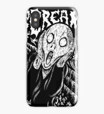 Metal Scream iPhone Case
