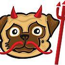 Devil Pug by chrisvig