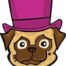 Fancy Pug by chrisvig