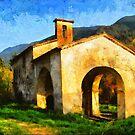 Provence Backcountry Chapel by jean-louis bouzou