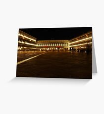 Piazza St Marco Greeting Card