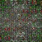 Grunge Wall Of Mould And Green by CrunchySqueak