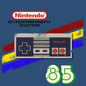 Classic NES 85 (Distressed) by EchoSoloArt
