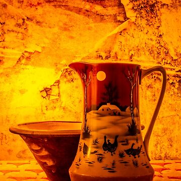 Wash Bowl And Pitcher by silversnapper1