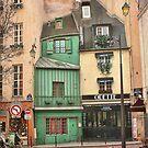 Odette in Paris by dawne polis