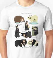 Bears of the World Unisex T-Shirt