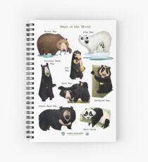 Cuaderno de espiral Bears of the World