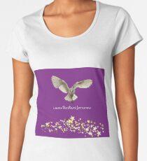 Jareth Labyrinth Premium Rundhals-Shirt