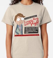 Funny Rick And Morty - Lawyer Morty Classic T-Shirt