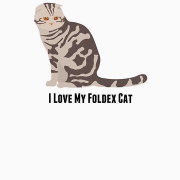 I Love My Foldex Cat by rodie9cooper6
