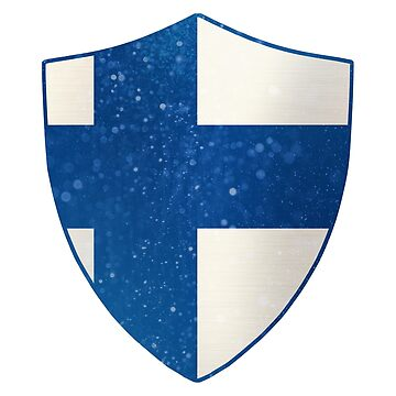 Finland Flag Shield by ockshirts