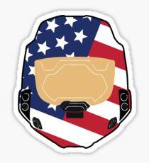 Spartan USA Sticker