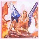 Warrior fairy by Lora Levitchi