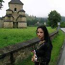 Romanian monastery by Lora Levitchi