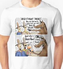 af4c222e6b Happy Hour Horse - A Western Hero Slim Fit T-Shirt