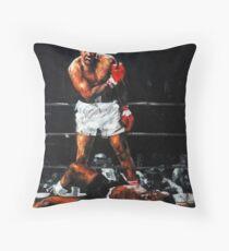 Cojín de suelo Muhammad Ali noquea a Sonny Liston -