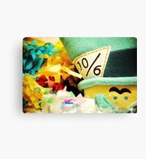 A Mad Tea Party III Canvas Print
