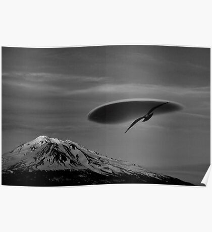 Mount Shasta Ca. Poster