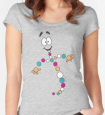 Dino DNA 2 Tailliertes Rundhals-Shirt