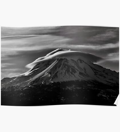 Mt.Shasta Ca. Poster