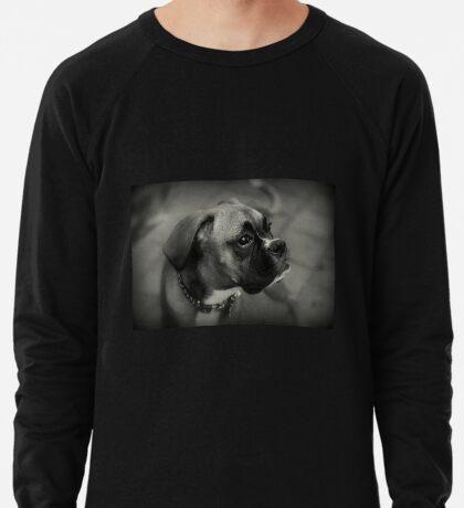 Eine Boxer-Profil ~ Boxer Dogs-Serie Leichtes Sweatshirt