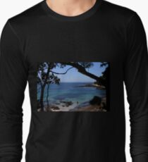 Das blaue Meer Langarmshirt
