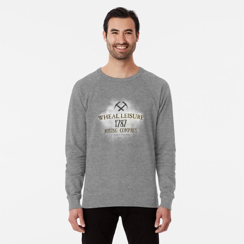 Wheal Leisure Mine 1787 - Poldark Lightweight Sweatshirt