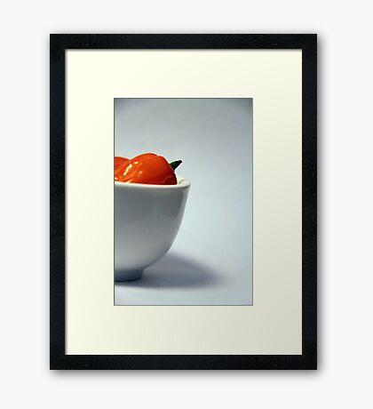 Habanero in Still Life Framed Print