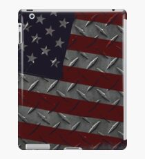 Tough As Steel American Flag iPad Case/Skin
