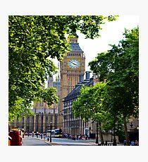 London Calling Photographic Print