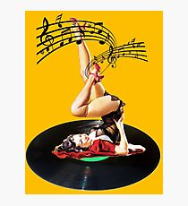 Rockabilly Goddess II Photographic Print