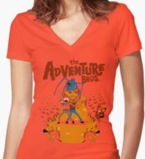 Adventure Bros. Women's Fitted V-Neck T-Shirt