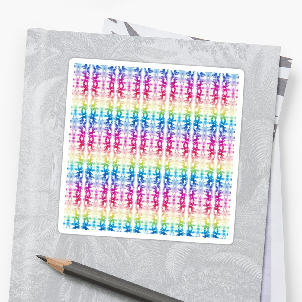 Rainbow Tie-Dye  Sticker