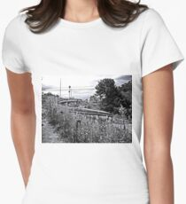 Coiled Women's Fitted T-Shirt