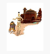 Street Droids Photographic Print