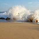 Wave and Rocks in Salgado Beach by AngeloDeVal