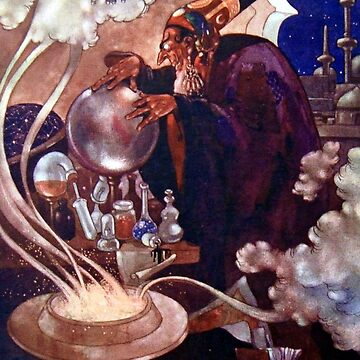 Magical Inquiries, Aladdin - Arabian Nights, Rene Bull by forgottenbeauty