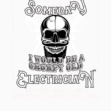 I Never Dreamed I Would Be a Grumpy Old Electrician! But Here I am Killing It   Funny Profession Gif by orangepieces
