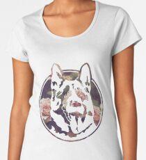 beautiful dog letter kenny su Premium Scoop T-Shirt