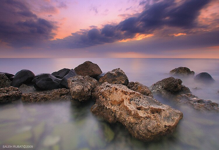 Going to west by Saleh Rubat